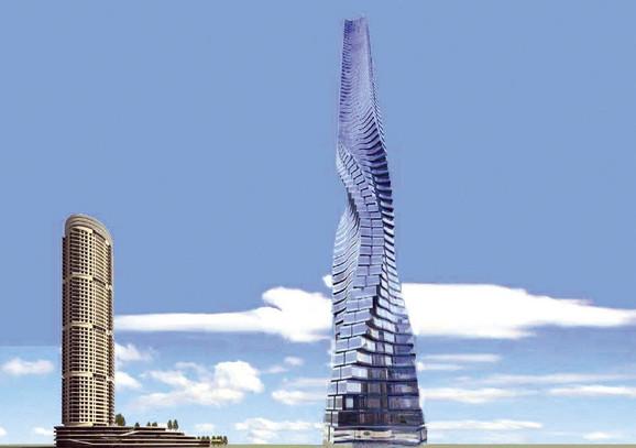 Planirano je da ovaj rotirajući neboder bude visok 333 metra