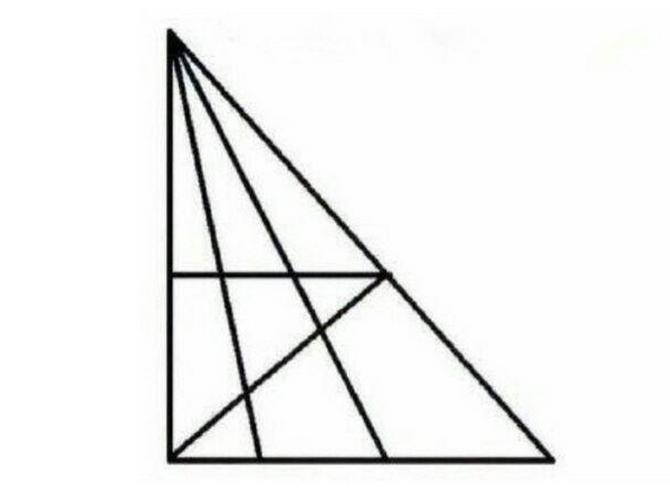 Koliko trouglova možete da nađete? Ako je vaš odgovor OVA BROJKA, onda vam je IQ PREKO 120