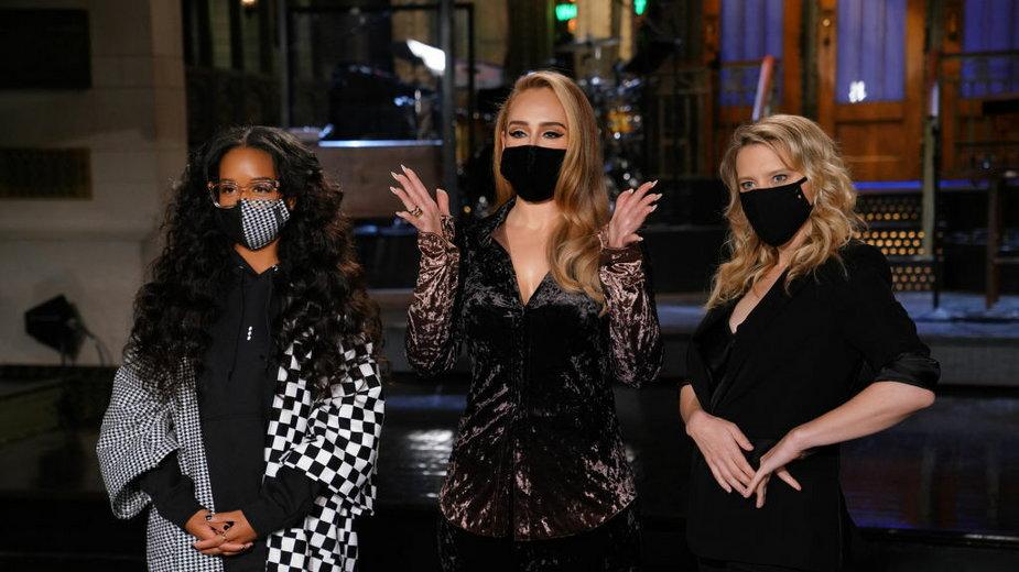 H.E.R., Adele i Kate McKinnon na planie Saturday Night Live
