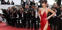 Modelka szokuje w Cannes. Nie miała majtek
