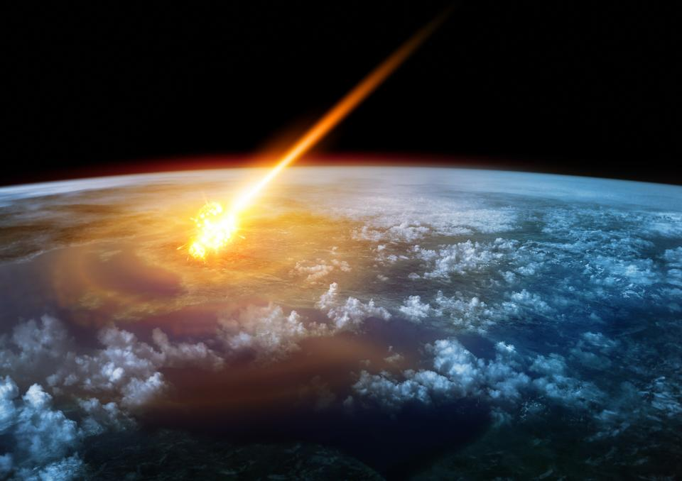 Zderzenie z asteroidą lub kometą