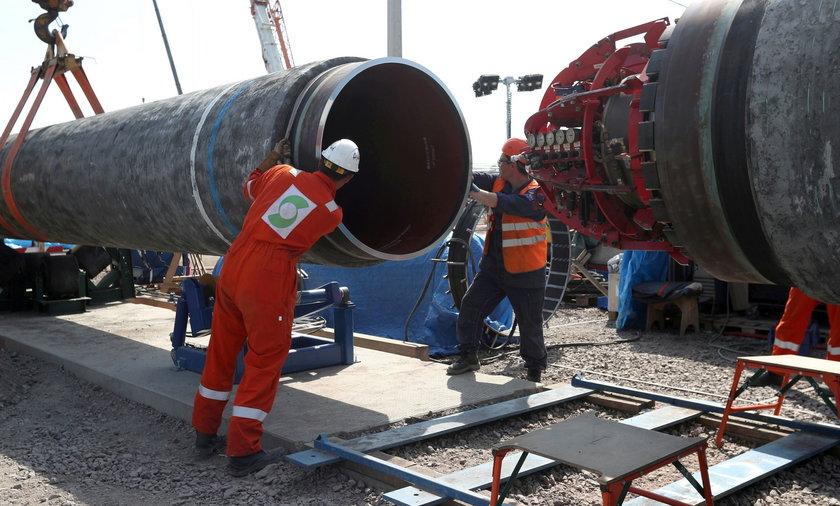Nord Stream 2 idzie przez Bałtyk