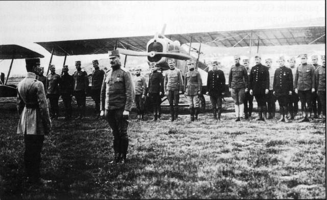 Srpski vazduhoplovni eskadron iz 1918. godine
