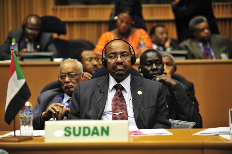 Omar al-Bashir, at the 12th AU Summit. (wikimedia)