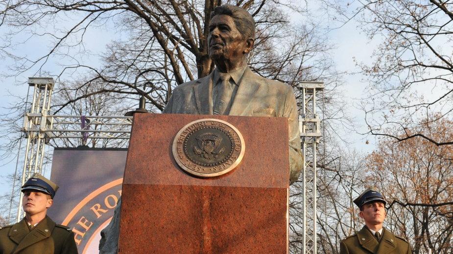 Pomnik Ronalda Reagana w Warszawie