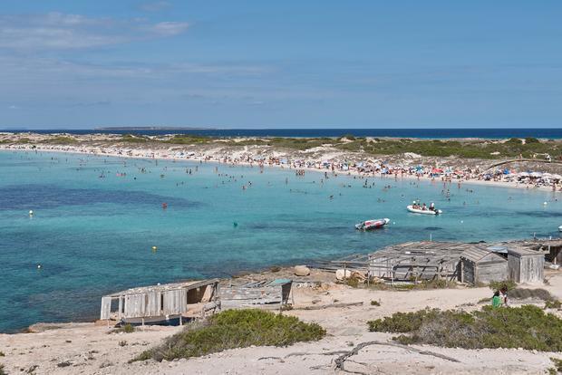 Plaża Ses Illetes