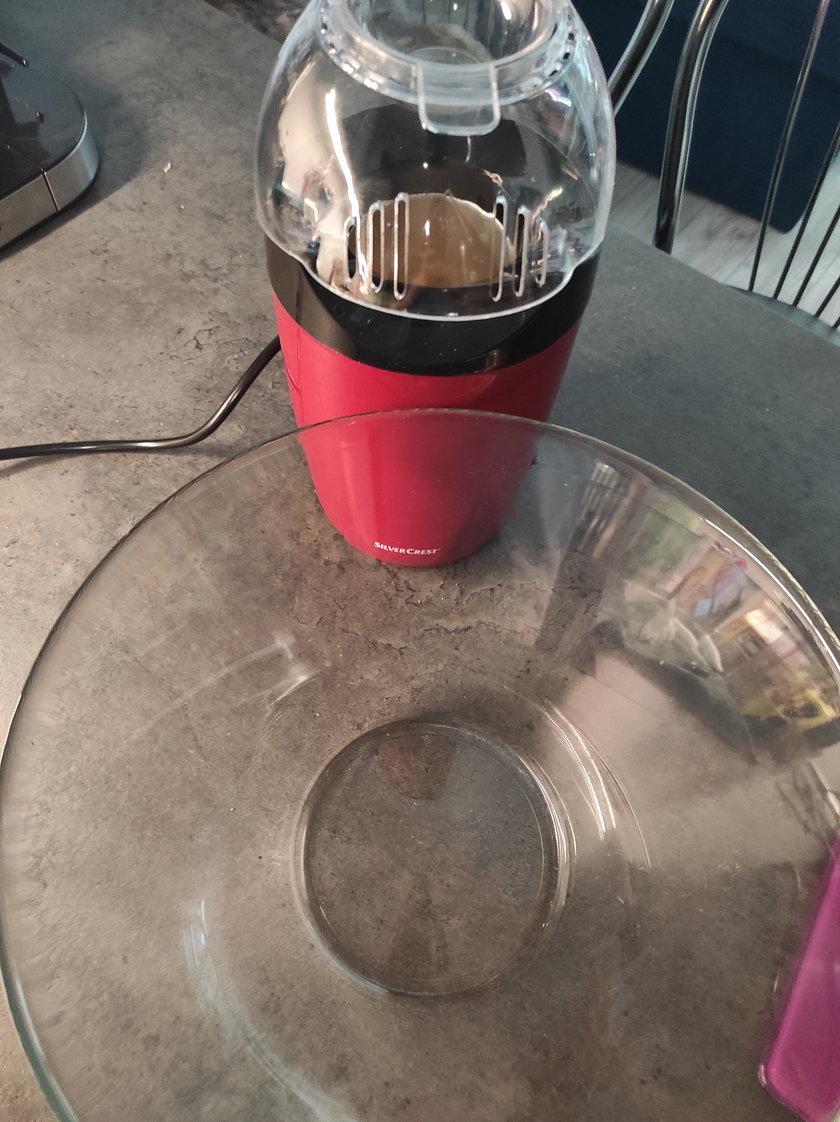 Lidl urządzenie do prażenia popcornu test Faktu