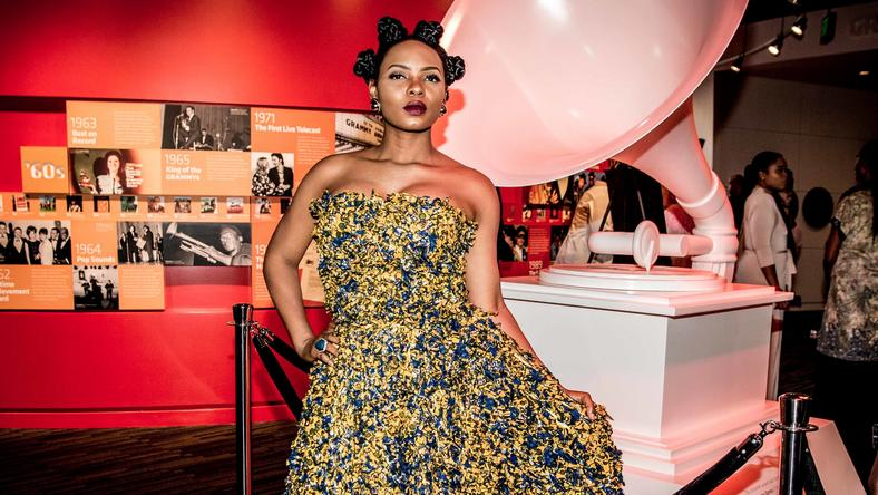 Yemi Alade at The Grammy Musuem.