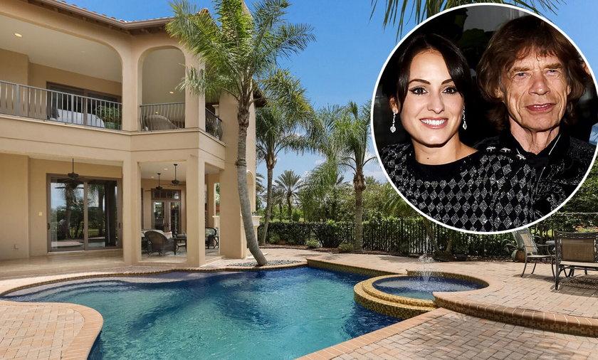 Mick Jagger kupił dla swojej partnerki posiadłość na Florydzie. Robi wrażenie?