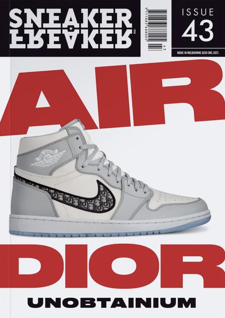 """Das Cover der aktuellen, 43. """"Sneaker Freaker""""-Ausgabe – in Deutschland kostet sie 5 Euro"""