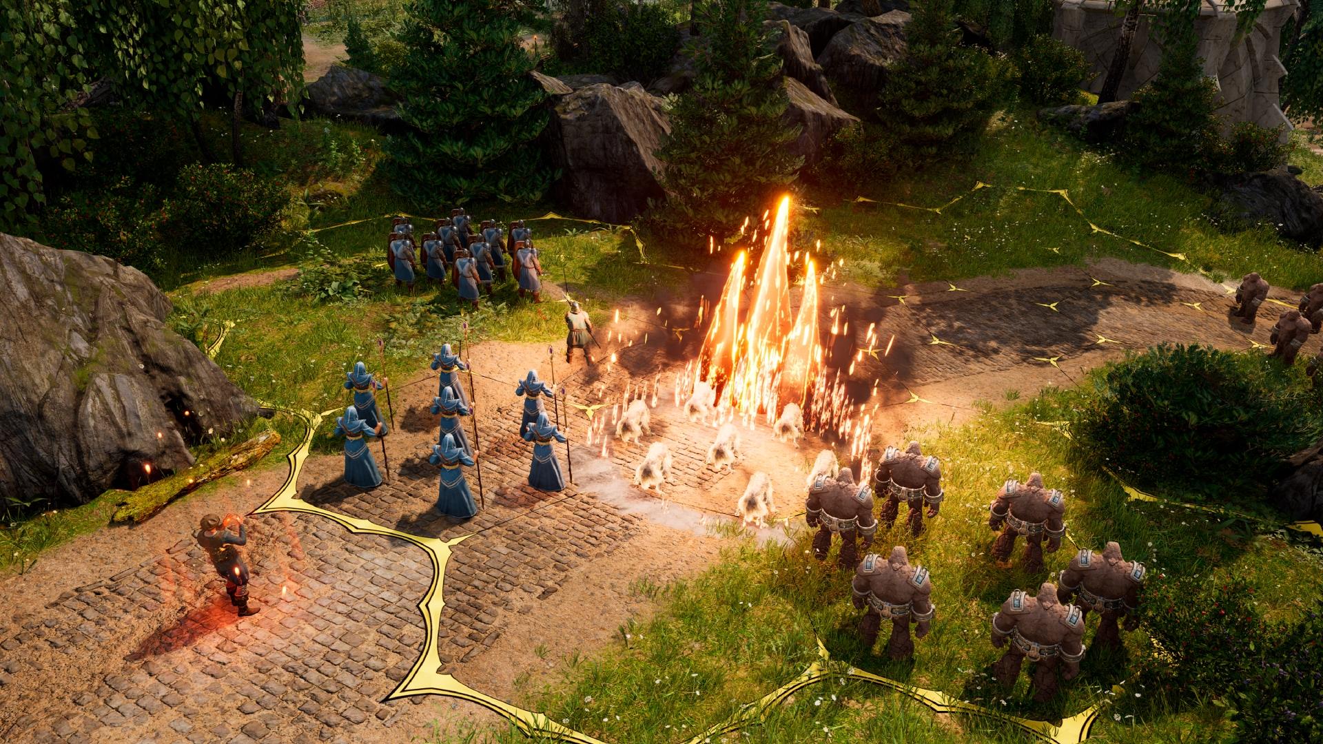 Pri bitkách budeme takticky ovládať naše jednotky na hexagónových bojiskách.
