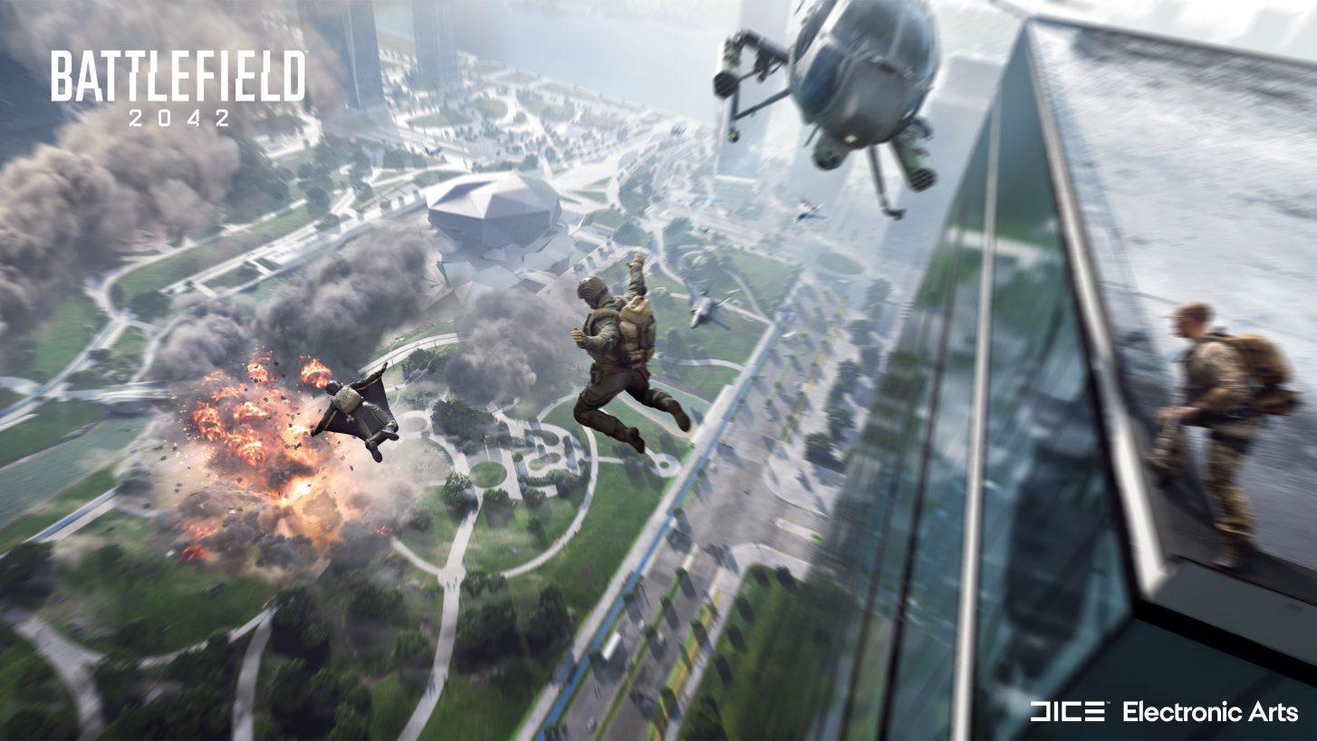 Obrázok z Battlefield 2042.
