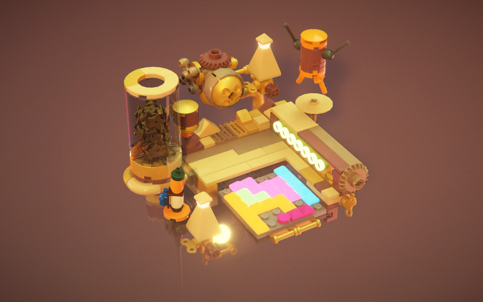 Obrázok z Lego Builder's Journey.