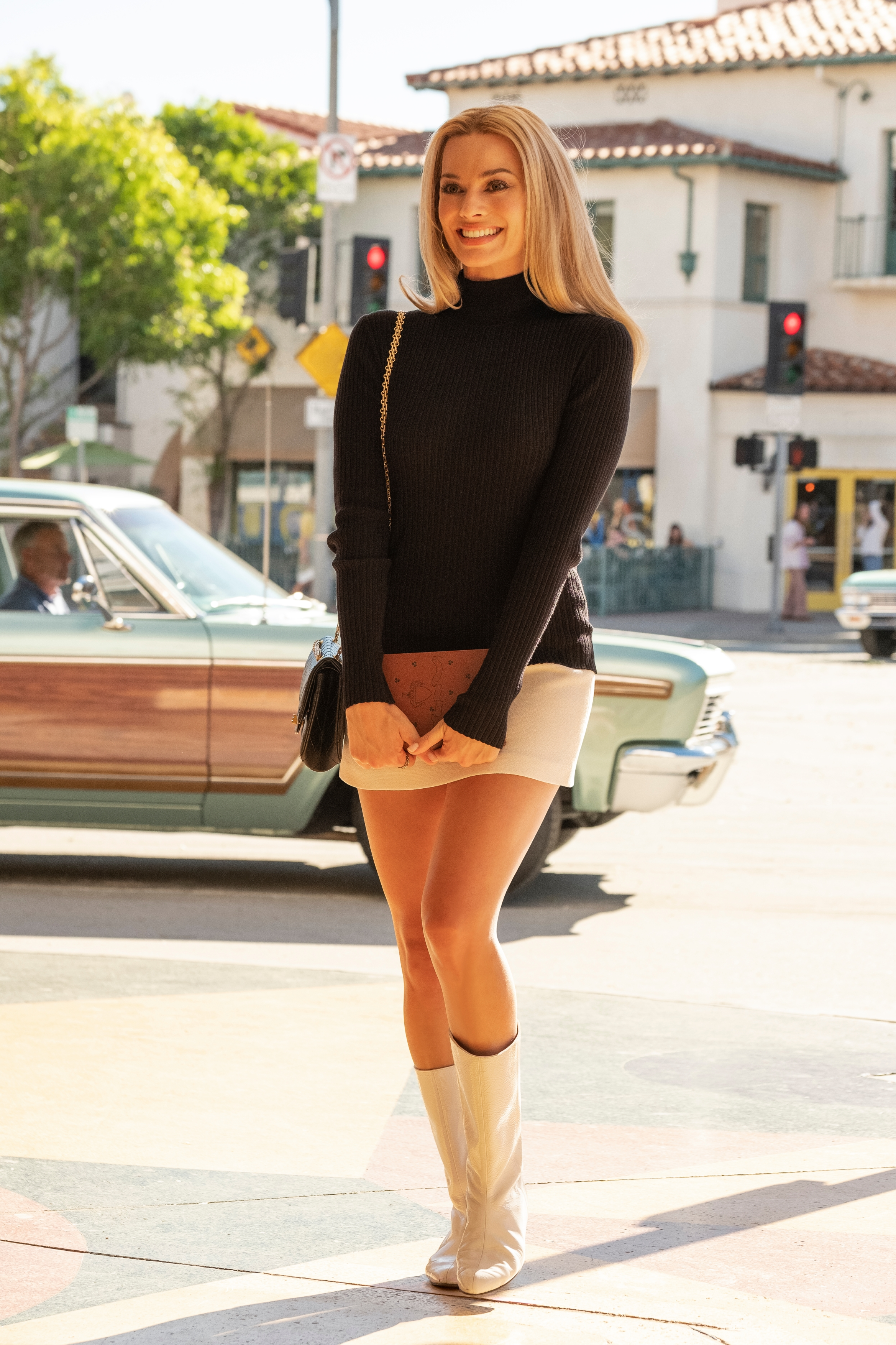 "Margot Robbie als Sharon Tate in ""Once Upon a Time in Hollywood"""