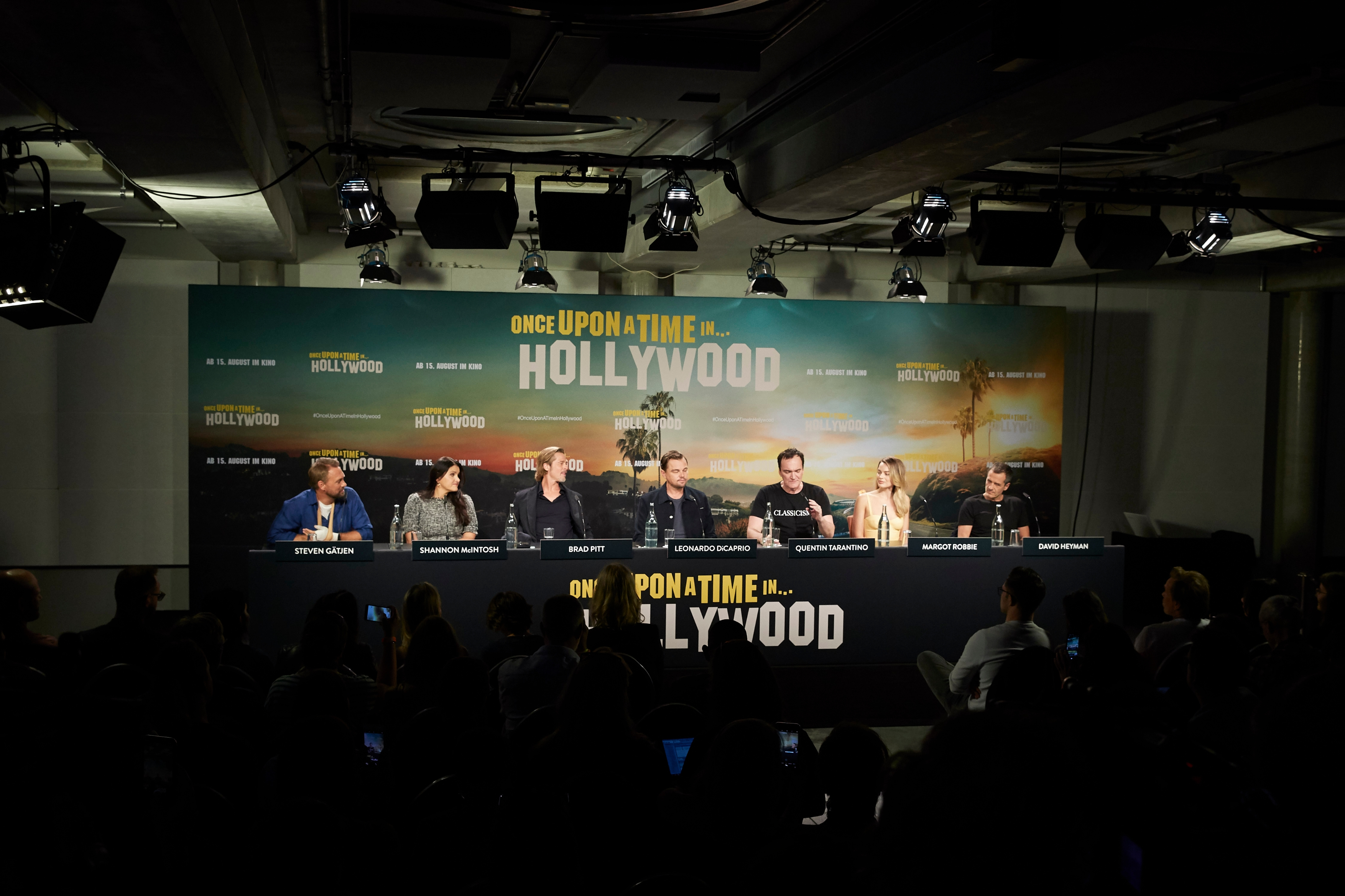 "Die ""Once Upon a Time in Hollywood""-Pressekonferenz im Berliner Soho House"