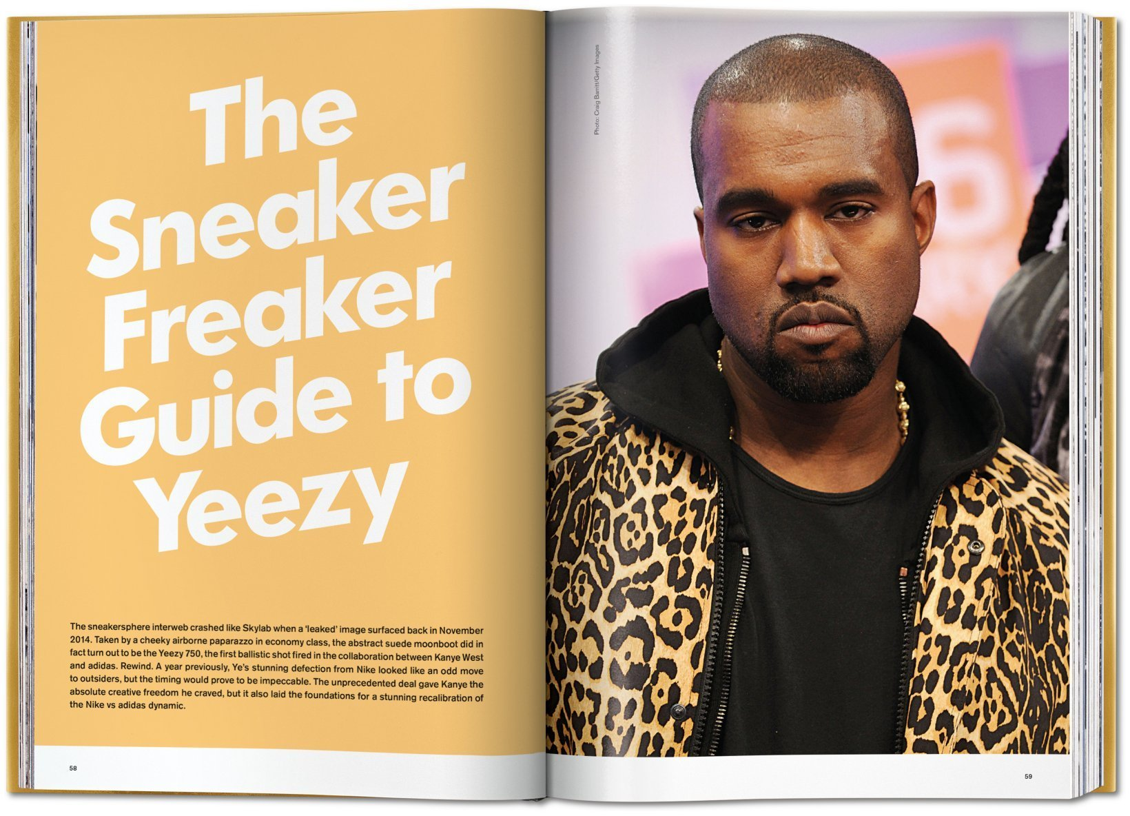 "Kanye Wests Yeezy-Sneaker bekommen im ""Ultimate Sneaker Book"" des Taschen Verlags ein eigenes Kapitel"