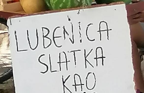 Za ovog prodavca sa BEOGRADSKE PIJACE kažu da je REKLAMOM POKOSIO KONKURENCIJU: Evo kako je predstavio svoje lubenice