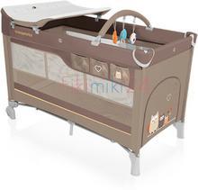 Baby Design Babydesign łóżeczko turystyczne DREAM NEW 09 BEŻOWE 766256