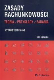 CeDeWu Zasady rachunkowości Teoria przykłady zadania - Piotr Szczypa