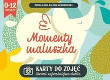 Momenty Maluszka Karty Do Zdjęć Iwona Kazia Kalitan Młodkowska