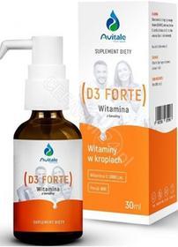 MEDICALINE Avitale Witamina D3 FORTE 30 ml