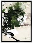 Dekoria Dekoria Plakat Abstract II 40 x 50 cm Ramka Czarna 221C-000-29