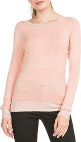 Vero Moda Montclair Sweter Różowy Pomarańczowy S (172484)