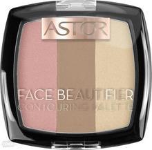 Astor Astor, Face Beautifier, paletka do konturowania twarzy 002 Medium, 9,2 g