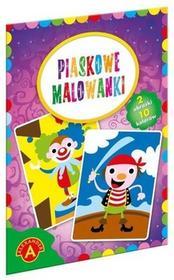 Alexander Piaskowe malowanki klaun pirat