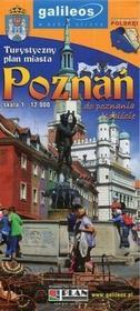 Poznań Turystyczny plan miasta 1:12 000 - Plan