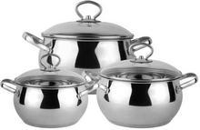 Prima Cucina Komplet garnków 6 elementowy