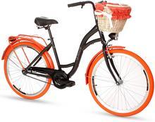 """Goetze, Rower miejski, Colours 26"""", czarno-pomarańczowy"""