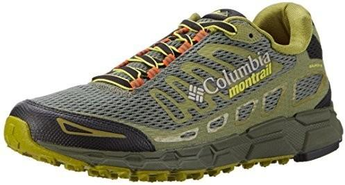 Columbia męskie buty do trail runningu, bajada III - zielony - 47 EU B0746PYHK5