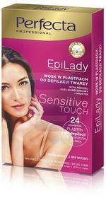 DAX Cosmetics Perfecta EpiLady Wosk do depilacji twarzy w plastrach 1 szt.