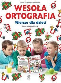 SBM Wesoła ortografia. Wiersze dla dzieci - Dorota Strzemińska-Więckowiak