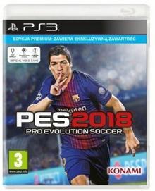 techland Pro Evolution Soccer 2018 Premium Edition PS3