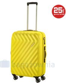 Samsonite AT by Średnia walizka AT ZIGGZAGG 78553 Żółta - żółty 78553 SOLAR YELLOW
