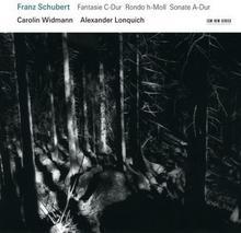 Schubert Fantasie Rondo Sonate CD) Alexander Lonquich Carolin Widmann