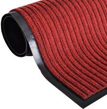 vidaXL Wycieraczka pod drzwi PCV czerwona 180 x 240 cm