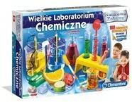 Clementoni WIELKIE LABORATORIUM CHEMICZNE REKLAMA