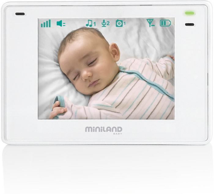 Miniland Elektroniczna niania z wielofunkcyjnym ekranem 3,5 plus