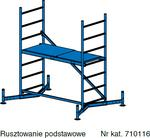 Krause ClimTec Rusztowanie aluminiowe wys. rob. 3.00 m 710116