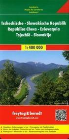 Freytag&berndt Czechy Słowacja mapa 1:400 000 Freytag & Berndt - Freytag & Berndt