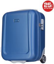Puccini Bardzo mała walizka IBIZA ABS04D 7 Niebieska - niebieski ABS04D 7