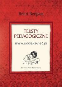 Uniwersytet Kazimierza Wielkiego Teksty pedagogiczne