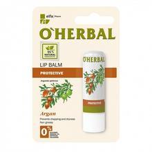 O'HERBAL O'HERBAL  Balsam do ust ochronny Olejek ARGANOWY 4,8 g
