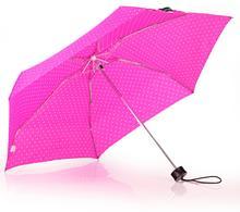 Happy Rain Ultra Mini Flash Parasolka składana kieszonkowa 43381 różowa