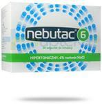 TACTICA PHARMACEUTICALS SP. Z O.O. Nebutac 6 hipertoniczny 6% roztwór NaCl do inhalacji 30x 4 ml 908