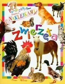 Zwierzęta poznajemy świat zabawa z naklejkami / wysyłka w 24h