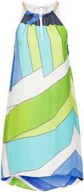 Bonprix Sukienka niebiesko-zielony